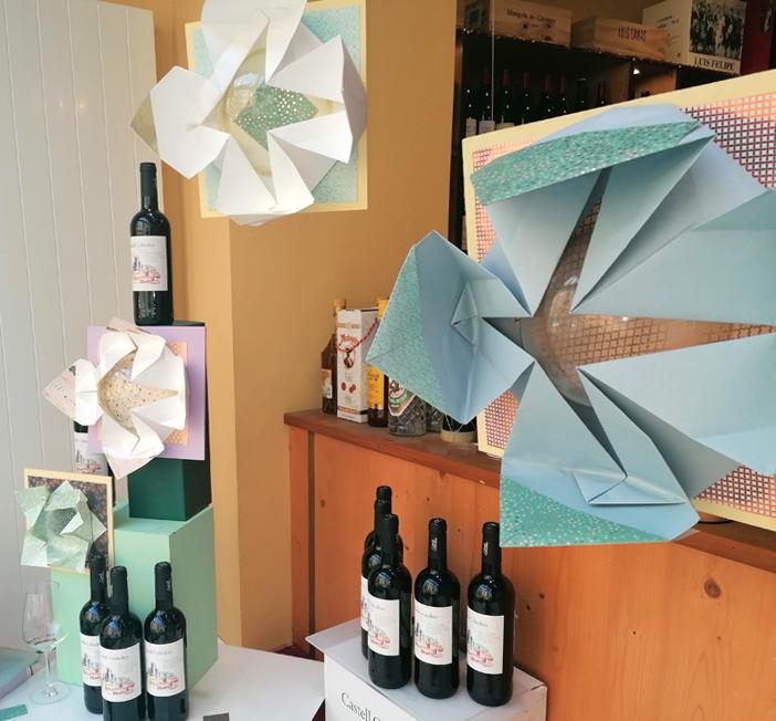 origami, dekoration